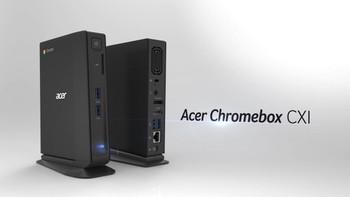 Brand New Acer Chromebox CXI2 4GB 16BG eMMC SSD w/ HDMI DisplayPort and New Keyboard/Mouse