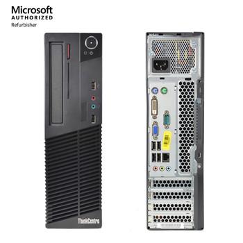 Lenovo Desktop Computer ThinkCentre M93P Intel Core i5 4th Gen 4570 (3.20 GHz) 16 GB DDR3 256 GB SSD Windows 10 Pro 64-bit