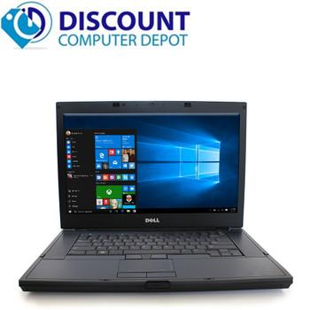 """Dell Latitude E6510 15.4"""" Laptop Computer 8GB 500GB Core i5 Win-10 Home WiFi"""