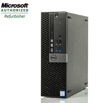 "Dell Optiplex 5040 Desktop Computer PC Quad i7  3.2GHz 16GB 256 SSD with Dual 22"" LCD Monitors and WIFI Windows 10 Pro"
