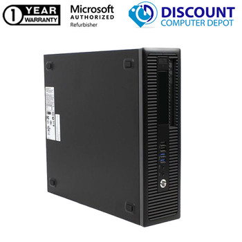 """HP Prodesk 600 G2 Computer Desktop PC- Core i5 (6500) 3.2GHz Quad-Core CPU - 512GB SSD - 16GB RAM - Windows 10 Home 64-Bit Installed 24"""" LCD - KB/Mouse Included"""