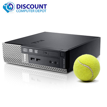 Dell Optiplex USFF 990 Small Computer PC 4GB 320GB Intel i5 Win-10 Pro WiFi