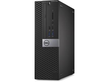 Dell OptiPlex 3040 Small Form Factor PC, Intel Quad Core i5 6500 up to 3.6GHz, 16GB 500HDD WiFi, Windows 10 Pro