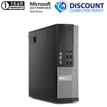 Dell 7010 i7 3rd gen Desktop 16GB 256GB SSD Windows 10 24in LCD WIFI DVD