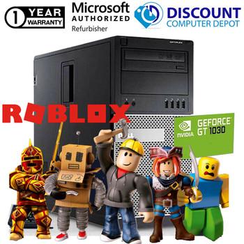 Dell Roblox Nvidia 1030 Desktop Gaming Computer 8GB i5 500GB HDD Windows 10 PC