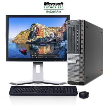 """Dell OptiPlex 7010 Desktop 8GB 1TB with a Dell 20"""" LCD Monitor Windows 10 Pro"""