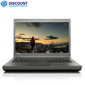 "Lenovo ThinkPad Laptop Computer T440p 14.1"" Core i5 4th Gen 4GB Ram 250GB Windows 10-64 Home WiFi"