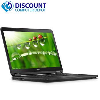 """Dell Latitude E7450 14"""" HD Laptop Core i5 5th Gen 8GB Ram 256GB SSD Windows 10 Pro - GRADE B"""