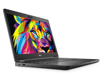 Dell Latitude E5480 Laptop | 7th Generation Intel i5 Processor | 8GB RAM | 256GB SSD | Windows 10 Professional Front Left
