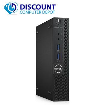 Dell Optiplex 3050 Micro Desktop | i5-7500T 2.7GHz 7th Gen | 8GB RAM | 256GB SSD | HDMI & DisplayPort | Windows 10 Pro