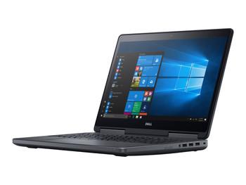 """Dell Precision Laptop Computer 15.6"""" Intel Core i7-7700HQ 2.8GHz 7th Gen 32GB RAM 1TB SSD Windows 10 Pro"""