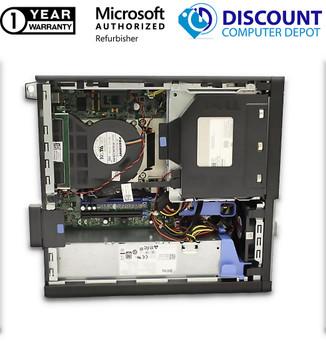"Dell 3020 SFF i5 4th gen Desktop 8GB RAM 500GB HDD Windows 10 Home with 24"" LCD"