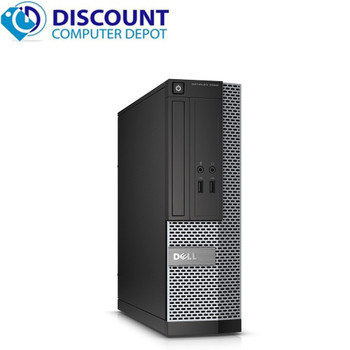 """Dell 3020 i3 4th gen SFF 8GB RAM 500GB HDD with webcam, 19"""" LCD and Display to VGA adapter"""