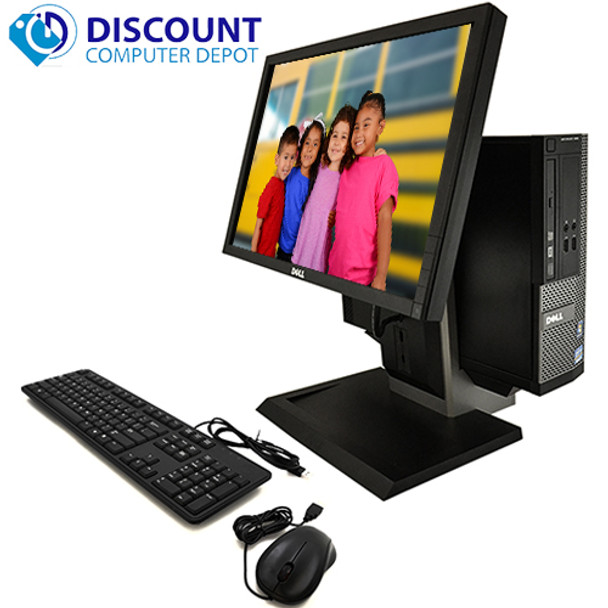 Dell 390 All In One Desktop Computer PC Windows 10 i3 3 1GHz 4GB 250GB WiFi