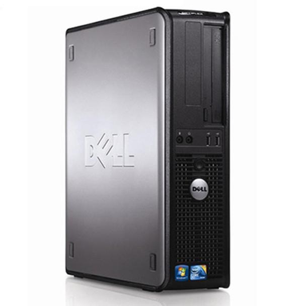 Dell Windows 10 Pro Optiplex Desktop Computer PC Core 2 Duo 4GB 80GB WiFi