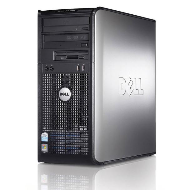 Dell Windows 10 Optiplex Desktop Tower Computer PC Core 2 Duo 4GB 160GB DVD