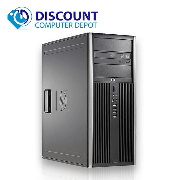 HP 8200 Elite Desktop Computer PC Tower I5 3.1GHz 16GB 1TB AND 500GB Windows 10 Pro