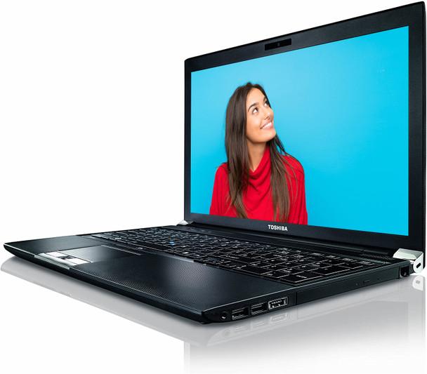 "Toshiba R950 15.6"" Laptop Notebook PC Core i3 3rd Gen 2.4GHz 8GB RAM 500GB Windows 10 Home WiFi Bluetooth"