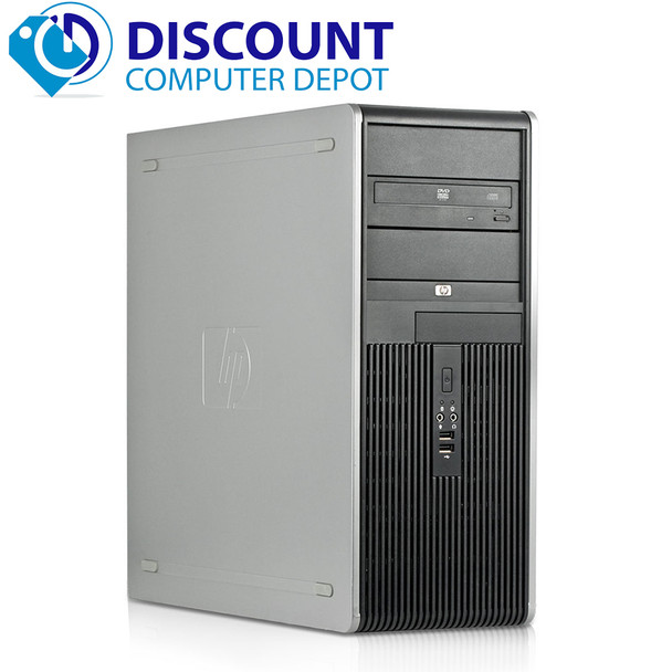 HP Core 2 Duo Tower Desktop Computer PC