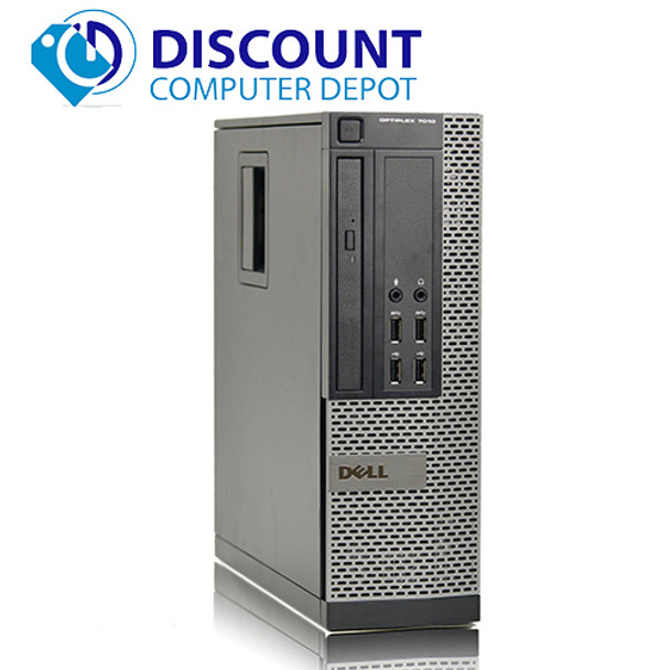 Dell Optiplex 7010 Windows 10 Desktop PC Computer i7-3770 3.4GHz 8GB 750GB Wifi