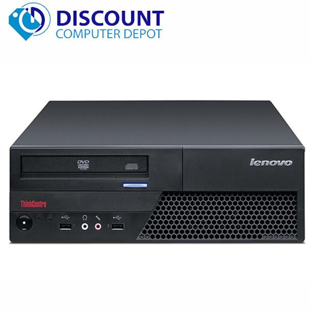 Fast Lenovo IBM Desktop Computer PC Windows 10 Core 2 Duo 2.93GHz 4GB 160GB