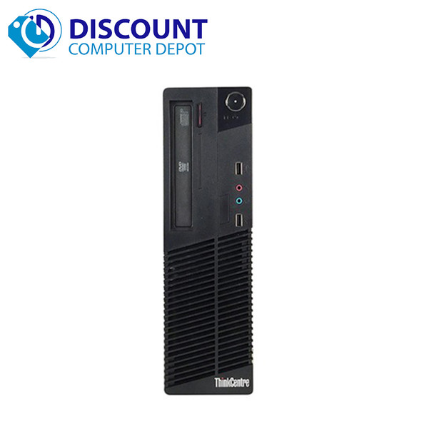 "Lenovo M92 Windows 10 Home Desktop Computer PC Intel Core i5 3.2GHz 4GB 500GB with a 19"" LCD"