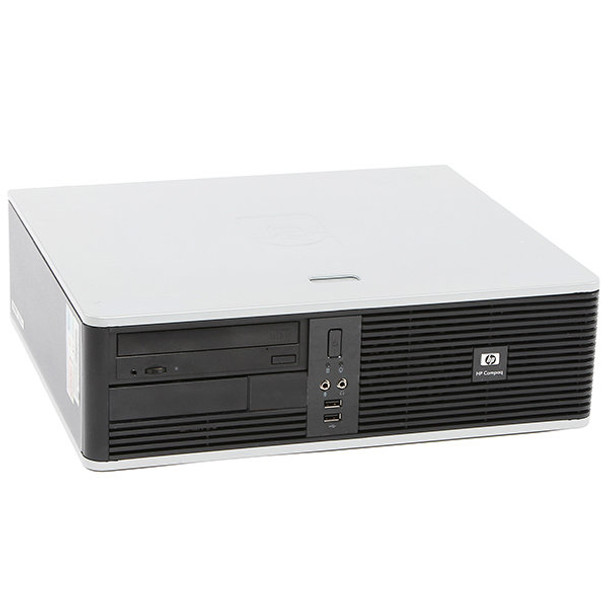 "HP DC Desktop Computer PC Tower Intel Dual Core 4GB 160GB DVDRW WiFi 17"" LCD"