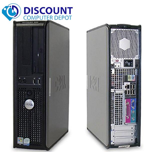 """Fast Dell Optiplex Desktop Computer PC Core 2 Duo 2.13GHz 4GB 160GB DVD Wifi 19"""" LCD Windows 10"""
