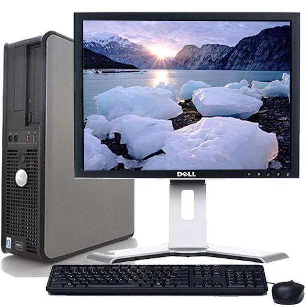 Fast Dell Optiplex Desktop Computer PC Core 2 Duo 2 13GHz 8GB 500GB DVD  Wifi 19