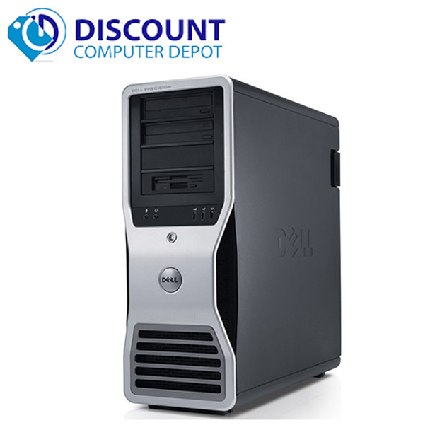 Dell Precision T3500 Workstation Windows 10 Pro Xeon 2 93GHz 16GB 1TB Dual  Video Dedicated Graphics and WIFI