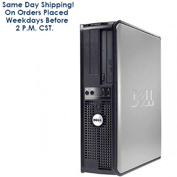 FAST Dell Optiplex Desktop PC Computer Intel Core 2 Duo 2.13GHz 4GB 160GB with Windows 10