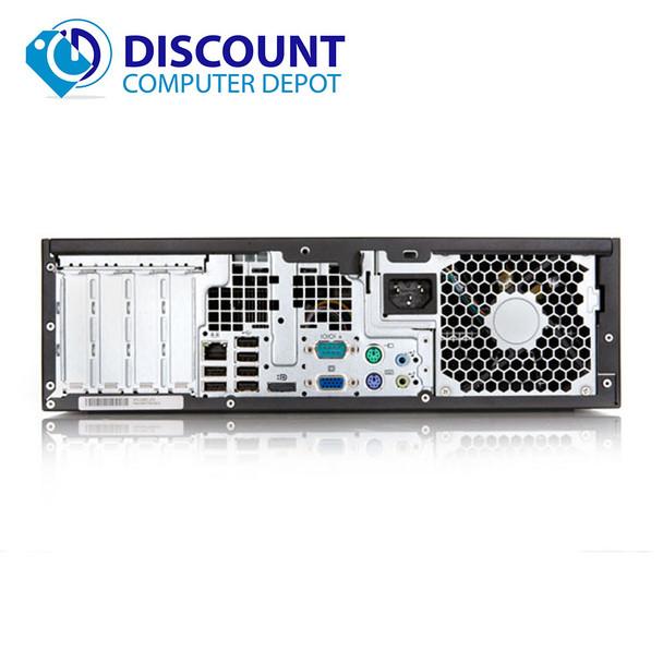 HP Elite/Pro Desktop Computer PC Dual Core 2.8GHz 4GB 250GB DVD-RW Windows 10