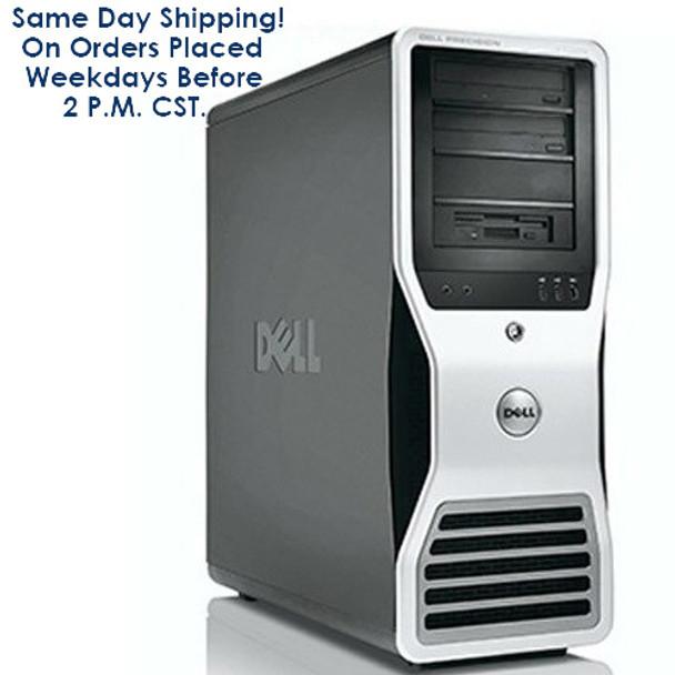 Dell Precision T3500 Workstation PC Windows 10 Pro Intel Xeon Processor 8GB 320GB