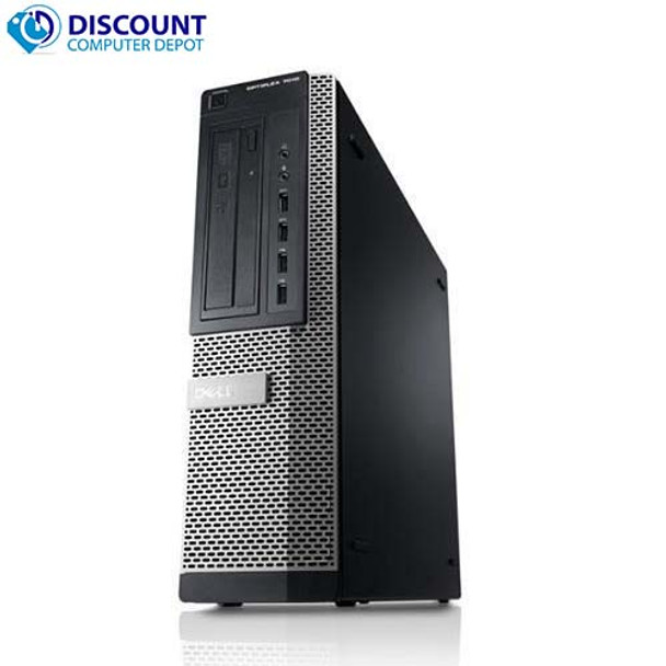 Dell Optiplex 790 Computer Desktop PC Intel Quad Core i7 8GB 500GB Windows 10 Pro
