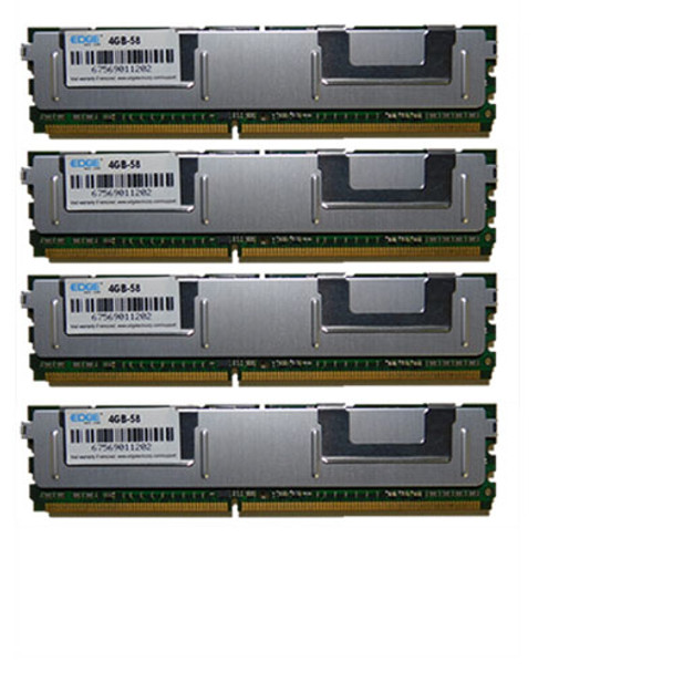 4x4GB 16GB Edge PC2-5300F Memory