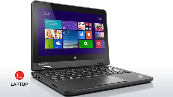 "Touch Screen Lenovo Yoga 2-in-1 | 11"" Laptop | Intel Quad Core Processor | 4GB RAM | 128GB SSD"