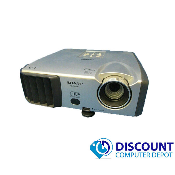 Sharp NoteVision PG-F212X-L Portable Multimedia DLP Projector **Functioning Lamp