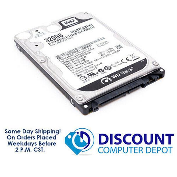 320GB Western Digital BLACK WD 2.5 7200RPM SATA Laptop Hard Drive GAMING HDD