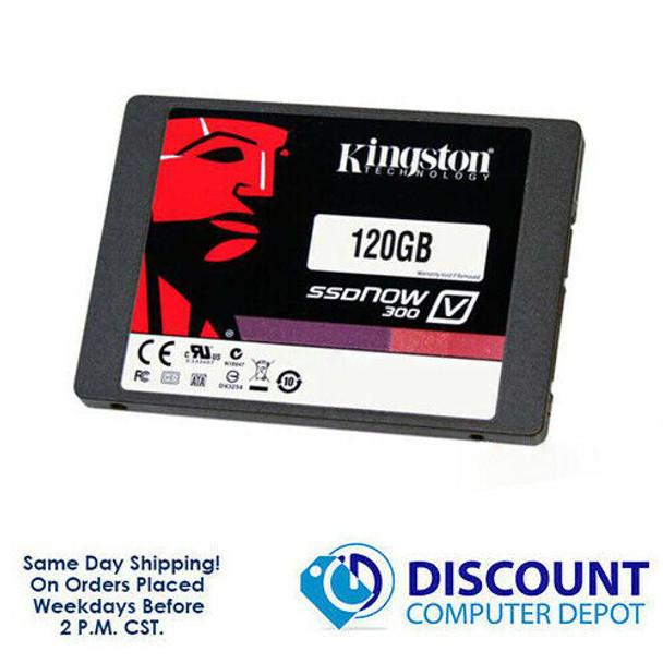 "120GB 2.5"" SSD SATA Kingston SSDNow 300 Solid State Drive For Laptops / Desktops"