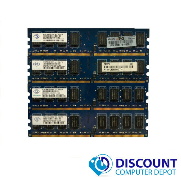 8GB KIT 4 x 2GB  Memory RAM Kit for Dell Optiplex 740 745 755 760 960 960D PC DT