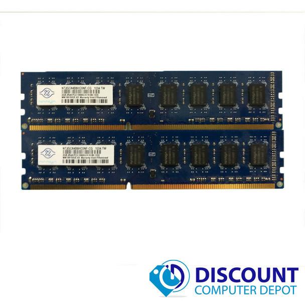 4GB KIT 2 x 2GB  Memory RAM Kit for Dell Optiplex 780 790 980 7010 7020 9010 DT