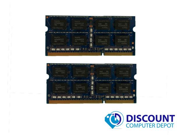 8GB 4GBx2 DDR3 1600 MHz PC3-12800 204 Pin Laptop RAM Sodimm Memory Kit Upgrade