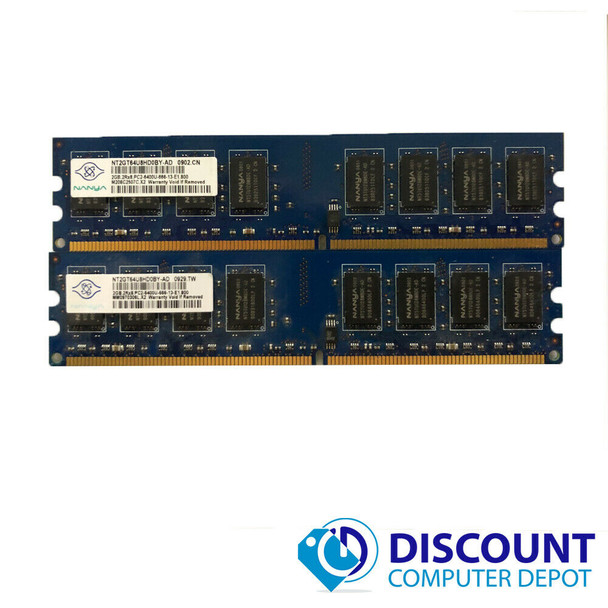 4GB KIT 2 x 2GB Memory RAM Kit for Dell Optiplex 740 745 755 760 960 960D PC DT