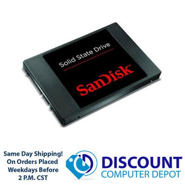 "64GB 2.5"" Sandisk SSD SATA III 6Gb/s Solid State Drive For Laptops / Desktops"