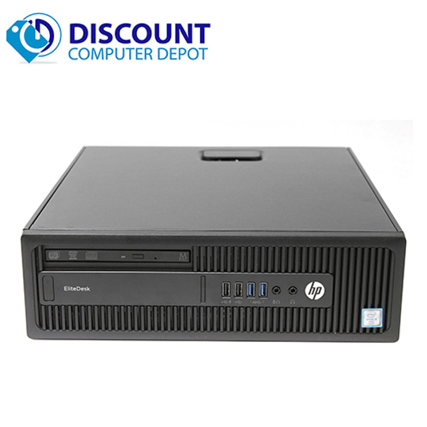 HP EliteDesk 800 G2 Desktop Computer Core i7 (6th Gen) 4GB 512GB SSD Windows 10 Pro