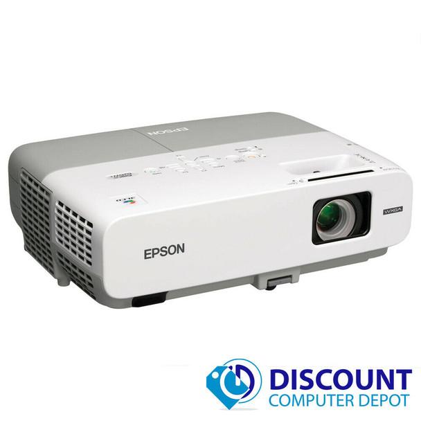 Epson PowerLite 826W 3LCD Projector 2500 Lumens 1080i 1280 x 800 1680 Hours