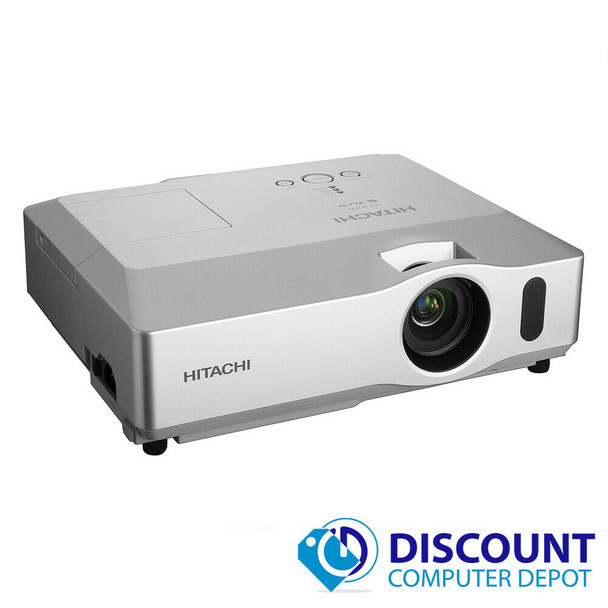 Hitachi CP-X201 3LCD Projector 2100 Lumens 1080i 1024 x 768 553 Hours
