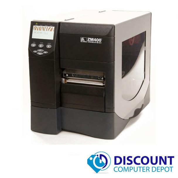 Zebra ZM400-2001-4000T Thermal Transfer Barcode Label Printer 203 DPI