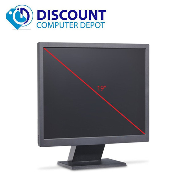 "Any Brand 19"" Monitor Desktop Computer PC LCD (Grade B)"