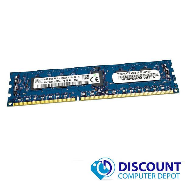 16GB 4x4GB 1Rx8 PC3L-12800R Hynix HMT451R7AFR8A-PB Server Memory RAM ECC Reg